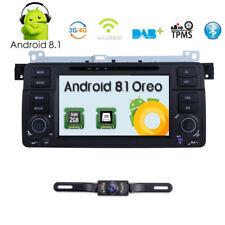 "For BMW E46 7"" Android 8.1 Car Stereo Radio DVD Player GPS Navigation DAB+Camera"