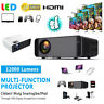 12000 Lumens 1080P HD LED Projector 3D Home Theater Cinema HDMI/VGA/USB/TV US