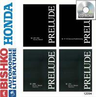 1997 1998 1999 Honda Prelude Shop Service Repair Manual CD