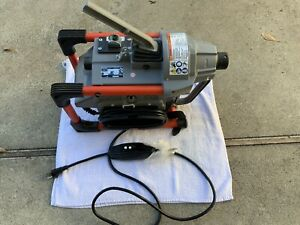 Ridgid K-60SP Sectional Drain Cleaning Machine ONLY - Very Nice!
