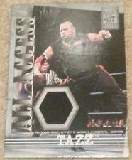 2002 Fleer WWF WWE All Access Tazz event-worn formal wear relic card