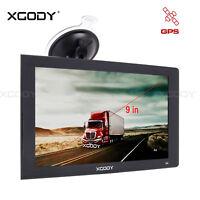 XGODY Navegación de 9 pulgadas Dispositivo de navegación GPS del coche 8GB NAVI