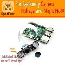 Raspberry Pi wide angle fish-eye camera module super bigger 160 degree lens