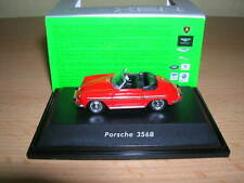 Welly Porsche 356B / 356 B Cabrio rot red Metall, 1:87 H0
