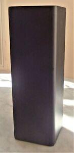 Stand, Plinth for Sculpture Display - Pedestal - Rectagular Box -Dark Brown Matt