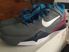 2012 Nike Kobe Zoom 7 VII - Mens Size 11 - Fireberry Grey/White/Pink WBF