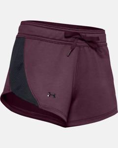 Under Armour Women's UA Tech™ Terry Shorts 1347424-569 Size M