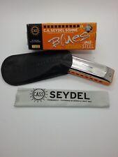 Seydel Blues Session Steel Mundharmonika Tonart C