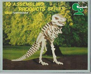IQ Assembling Products Series 3D Wooden Tyrannosaurus-0081 *