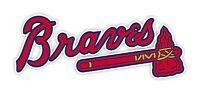 Atlanta Braves Decal / Sticker Die cut