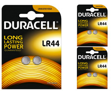 2 x DURACELL LR44 1.5 V Pile Alcaline Bottone Cella V LR 44 A76 G13 357 Hexbug