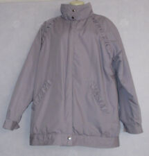 Ladies THE COATHANGER lilac  3/4 length quilt lining jacket size 12/14