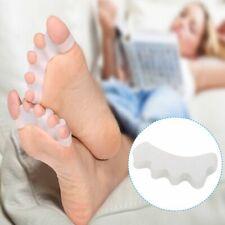4x Gel Toe Separators Orthotics Stretchers Align Correct Overlapping Hammer Toes