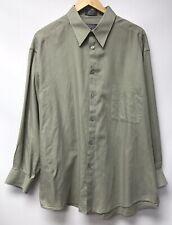 Crazy Horse A Clairborne Company Mens Size 17 32 33 Shirt Green
