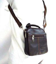 Genuine natural Leather Shoulder Bag fit man / woman vintage shoulder handbag