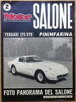 Motor - 1964 n° 44 - numero dedicato al Salone dell'Auto di Torino