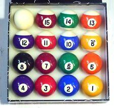 "Le macchie e strisce 1 7/8"" (47.6 mm) Pool Balls"