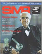 December 2016 SMR Sports Market Report Price Guide New Never Read Sealed Edison
