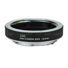 12mm Macro Tube Bague Extension Monture Appareil Photo Canon EOS Objectif EF EFS
