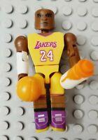 "KOBE BRYANT Mini Figure 2.5"" C3 Construction Buildable NBA Los Angeles Lakers"