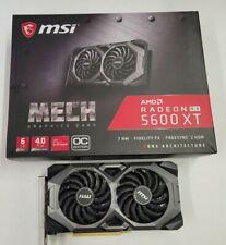 MSI Radeon RX 5600 XT Mech OC GDDR6 Graphics Card ***FREE SHIPPING !***