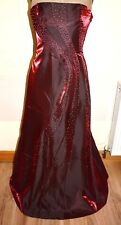 New Stunning Ball Gown Evening Dress Prom Party cruise size 10 Beaded Special oc