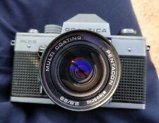 Praktica PLC 2 Camera with lens pentagon electric 2.8/29 multi coating.
