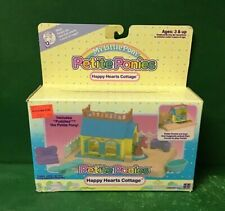 "1989 My Little Pony Petite Ponies:HAPPY HEARTS COTTAGE"" NIB BY HASBRO"