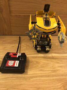 Nikko RC, Remote Control Autobot Bumblebee, Transformers Age Of Extinction, Rare