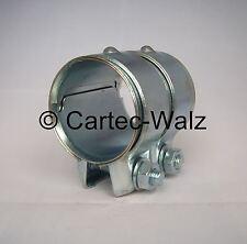 Conector de tubos, abrazadera doble, 55 x 80mm para Audi, BMW, FORD, OPEL, VW ,