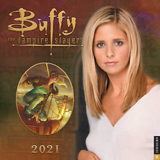 Buffy The Vampire Slayer 2021 Wall Calendar Science Fiction Fantasy Collectible