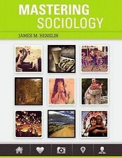 NEW Mastering Sociology Plus MySocLab with Pearson eText -- Access Card Package