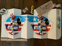 Disney Mickey Mouse collectibles lot shield lunch bags phone plate Balancine tag