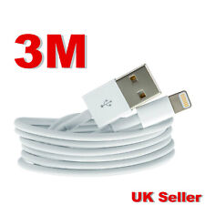 3m Strong Long USB Fast Charger Data Cable Lead for iPhone 5S 6 6S 7 8 X XS XR