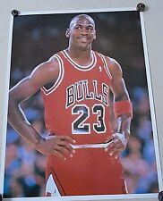 "Michael Jordan / Rare Carnival type poster / Da Bulls / Exc.+ New cond.-17 x 23"""