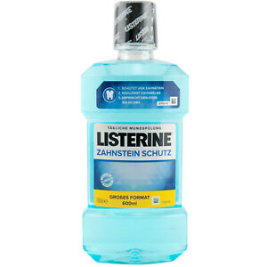 Listerine Tartar Protection 1 x 600 ML Mouth Rinse Protects Against Tartar