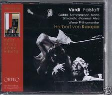 VERDI BOX SET 2 CDS NEW FALSTAFF / KARAJAN/ AUGUST 1957/ TITO GOBBI/ SCHWARZKOPF