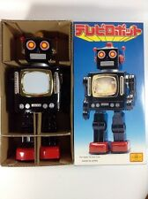 Metal House Tin Robot TV Robot Black Version Made in Japan NEW Very Rare!!!