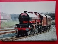 PHOTO  LMS LOCO PRINCESS ROYAL CLASS 6201 PRINCESS ELIZABETH - NORTH WALES COAST