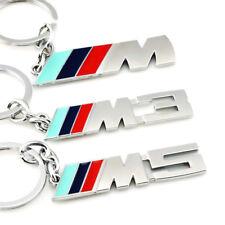 PORTACHIAVE AUTO  PORTACHIAVI AUTO IN ACCIAIO BMW M3 M 3 1 3 5 X X1 X3 X5 E3 E5