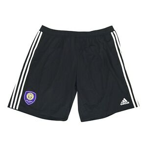 Orlando City SC MLS Adidas Men's Black Team Crest Training Shorts