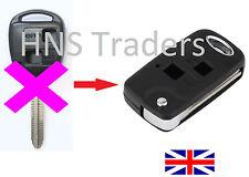 For Toyota RAV 4 CELICA PRIUS Landcruiser PICNIC 2 Button Flip Key + LOGO