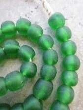 Beads [63801] African Green Glass