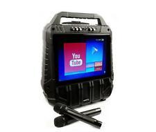 WiFiOke WIFI streaming Rechargeable Touchscreen karaoke system 2 Wireless mic