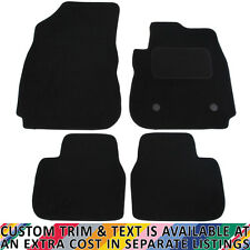 Citroen C4 Cactus 2014+ Fully Tailored 4 Piece Car Mat Set with 2 Clips
