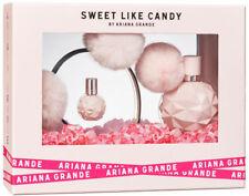 ARIANA GRANDE SWEET LIKE CANDY EDP Gift Set 100ml, 7.5ml & PomPom Headband, New