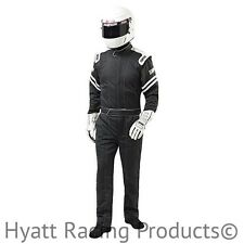 Simpson Legend II Auto Racing Fire Suit SFI-1 (Small / Black)