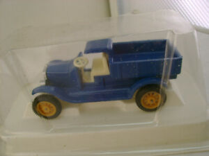 EFSI TOYS HOLLAND BLUE FORD MODEL T DUMP TRUCK NEW IN BOX