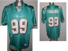 Jason Taylor #99 Miami Dolphins NFL Jersey shirt REEBOK NFL American Football L