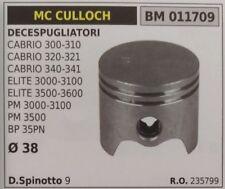235700 PISTONE COMPLETO DECESPUGLIATORE McCULLOCH CABRIO 341 ELITE 3000 Ø38